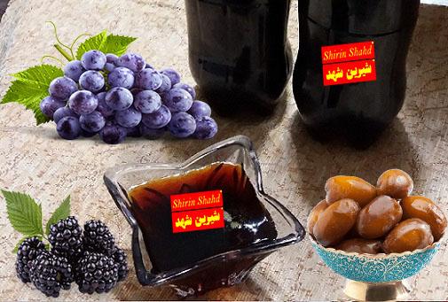 لیست قیمت سه شیره انگور توت و خرما