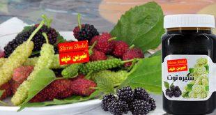 نرخ شیره توت ارگانیک ارزان قیمت