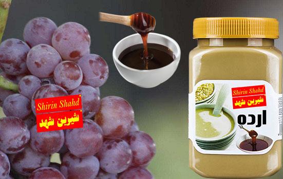 صادرات شیره انگور و ارده کنجد ممتاز