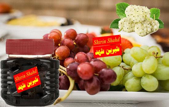 صادرات عمده شیره انگور و شیره توت