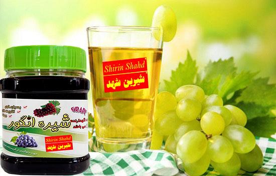 کارخانه تولید شیره انگور صادراتی