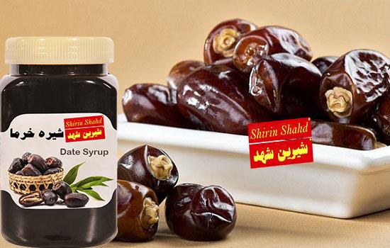 صادرات شیره خرما به ترکیه و عراق
